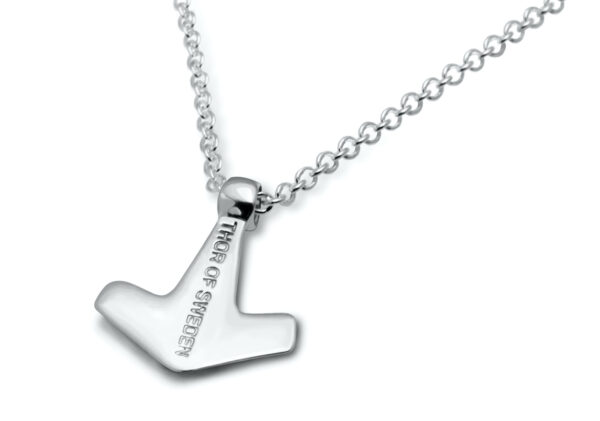 thor necklace halsband silver 1