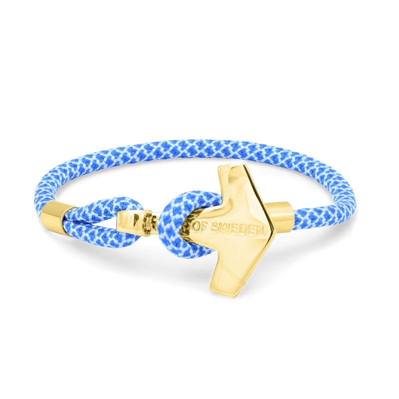 Sky Blue & Gold, himmelsblå & guld 1